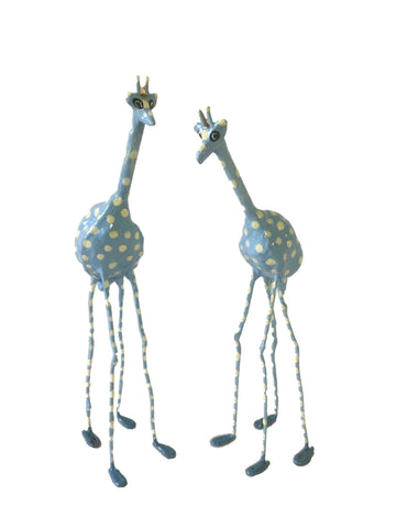 Seedpod Blue Giraffe - Large