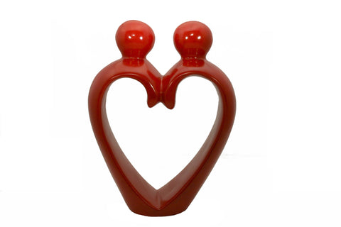 Heart Couple Red Small (min 4)