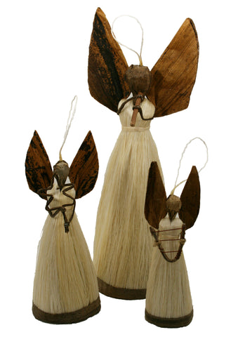 Banana Fibre Angels Large (min 2)