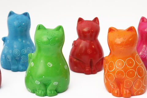 Smiling Cats (min set of 6)