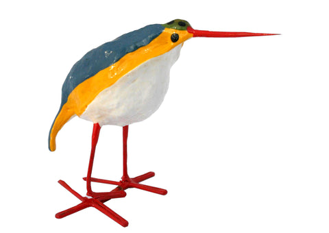 Seedpod Kingfisher Plant Pot Stick - SPKP