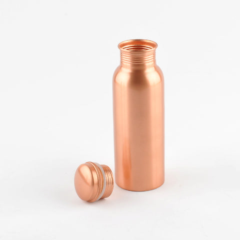 Matt Copper Water Bottle 750ml  (trade min 4)