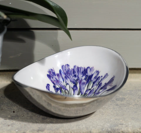 Agapanthus Oval Bowl Small  (Trade min 4 / Retail min 1)
