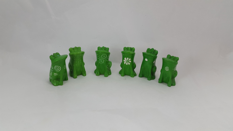 Sitting Frogs 3cm - (min set of 24)