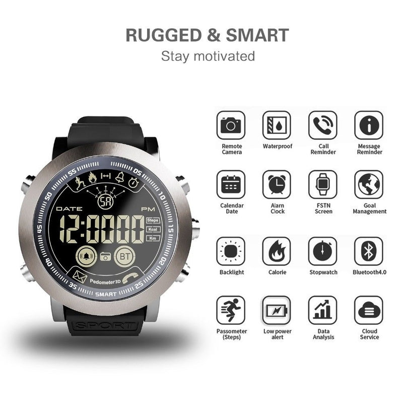 Monkeylectric Usmart4 Smartwatch - Sport Black
