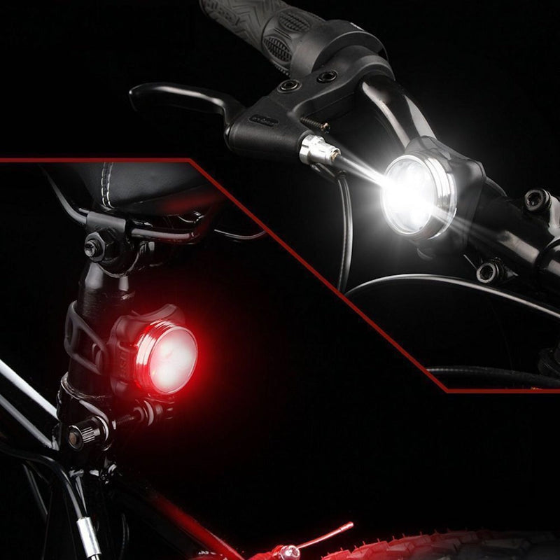 M11 - Rechargeable Bright LED Tail light - Red & White