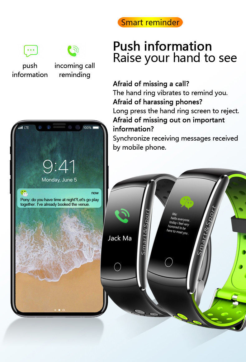 Monkeylectric Bsmart Smartwatch - Green