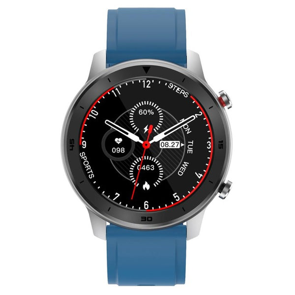 Monkeylectric SWISS87 Smartwatch - Blue Silicone