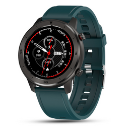 Monkeylectric SWISS87 Smartwatch - Green Silicone