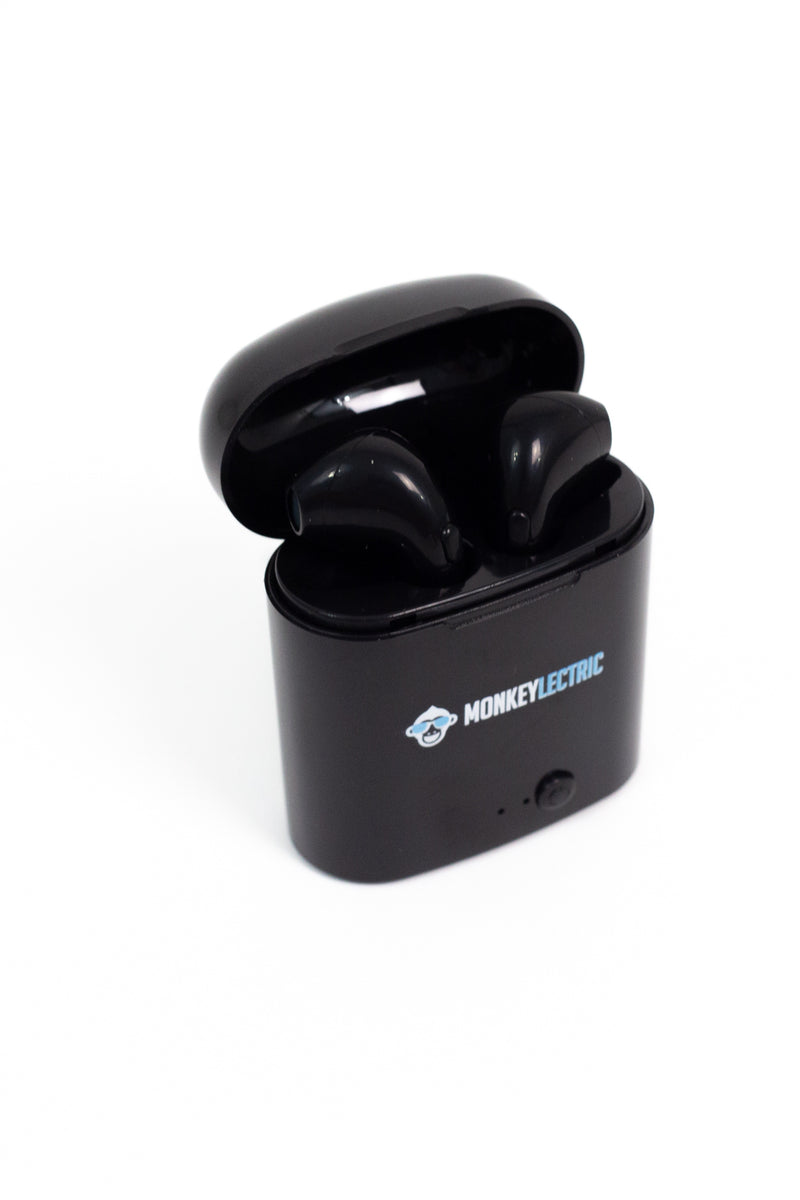 Monkeylectric iSmart7 Headphones - Phantom Black