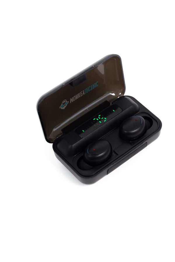 Monkeylectric iSmart8 V5.0 Wireless Headphones - Black