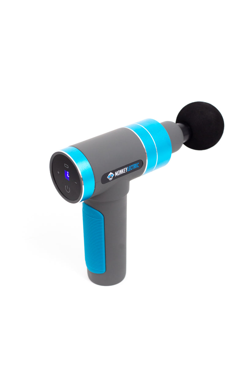 Monkeylectric Dynamic Massage Gun Supreme - Blue Thunder