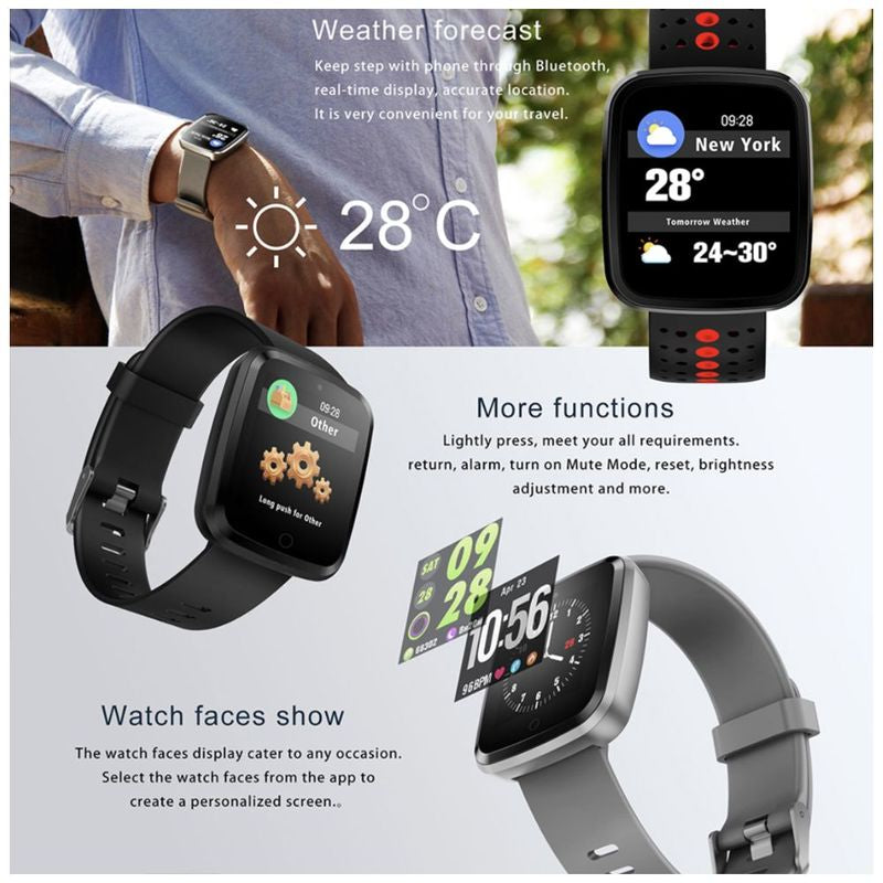 Monkeylectric Lsmart5 Smartwatch - Tailored Silver