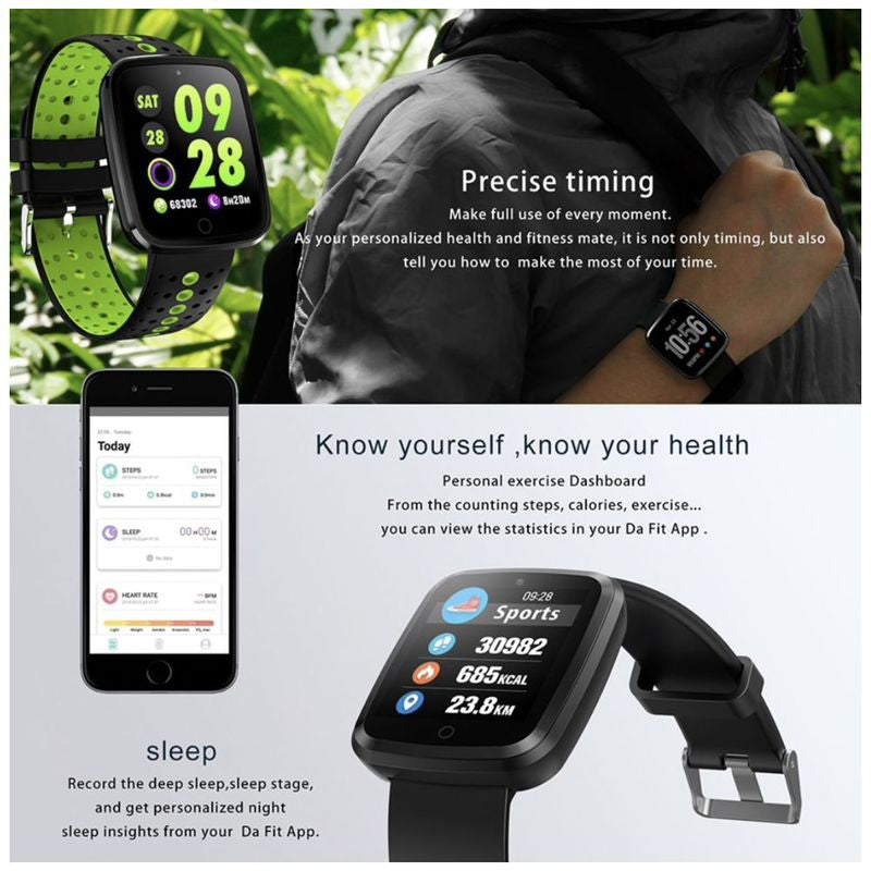 Monkeylectric Lsmart5 Smartwatch - Tailored Black