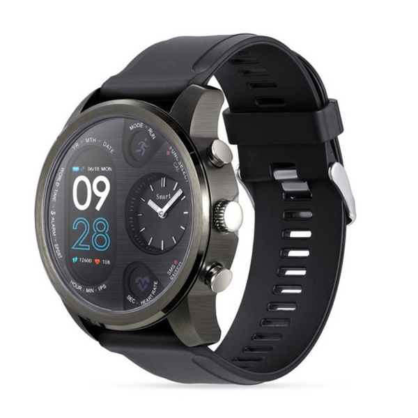 Monkeylectric Qsmart5 Thunder Smartwatch - Gun Metal Grey