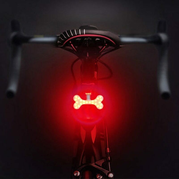SuperMonkey TL1 - Rear Tail Bicycle Light - Bone