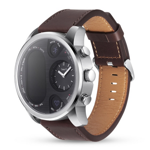Monkeylectric Qsmart5 Thunder Smartwatch - Brown