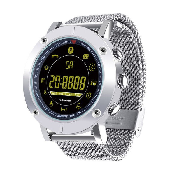 Monkeylectric Zsmart Swift Smartwatch - Stainless Steel