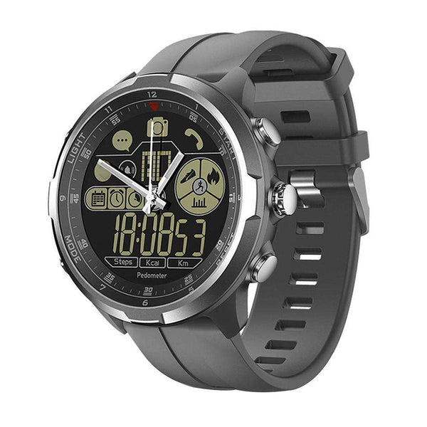 Monkeylectric Zsmart2 Hybrid Swift Smartwatch - Gun Metal Grey