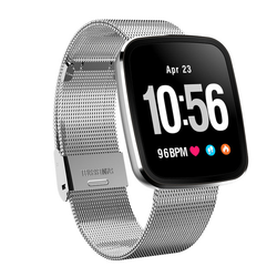 Monkeylectric Lsmart5 Smartwatch - Tailored Silver Stainless Steel