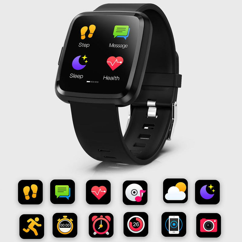 Monkeylectric Lsmart5 Smartwatch - Tailored Galaxy Blue