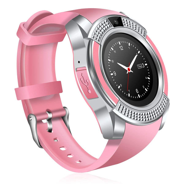 Monkeylectric Lsmart8 Smartwatch - Tailored Pink