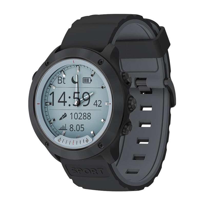Monkeylectric Qsmart6 Thunder Smartwatch - Gun Metal Grey