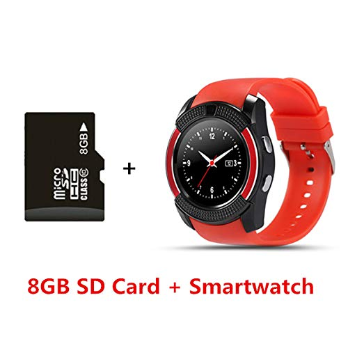 Monkeylectric Lsmart8 Smartwatch - Tailored Red