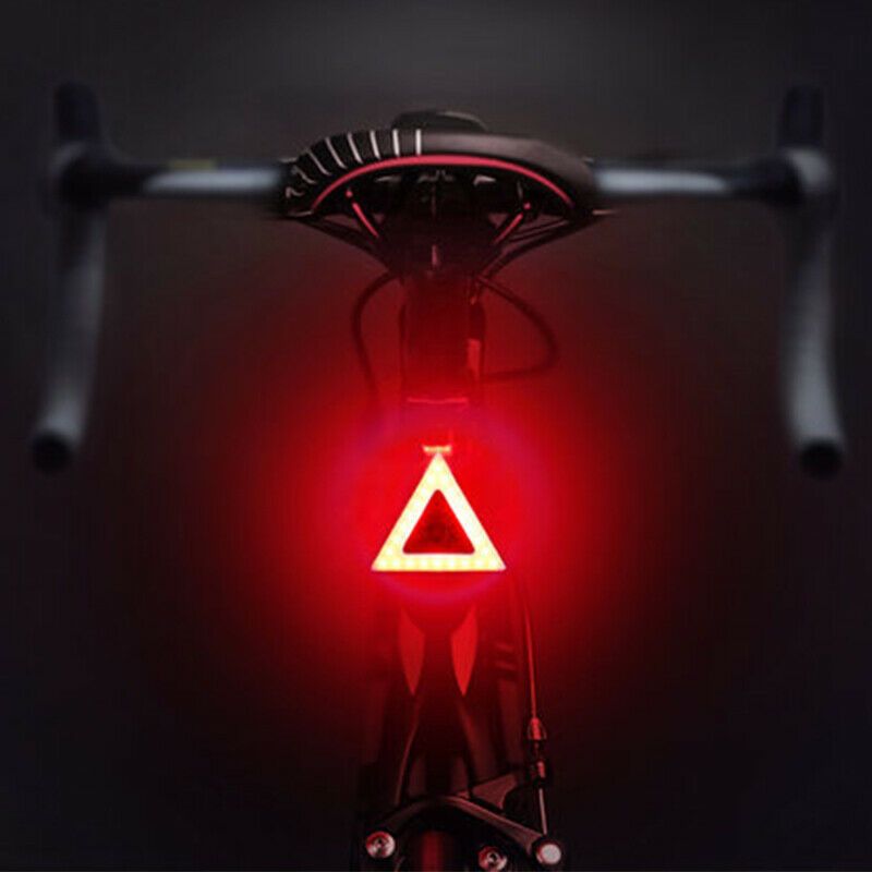 TL1 - Rear Tail Bicycle Light - Triangle
