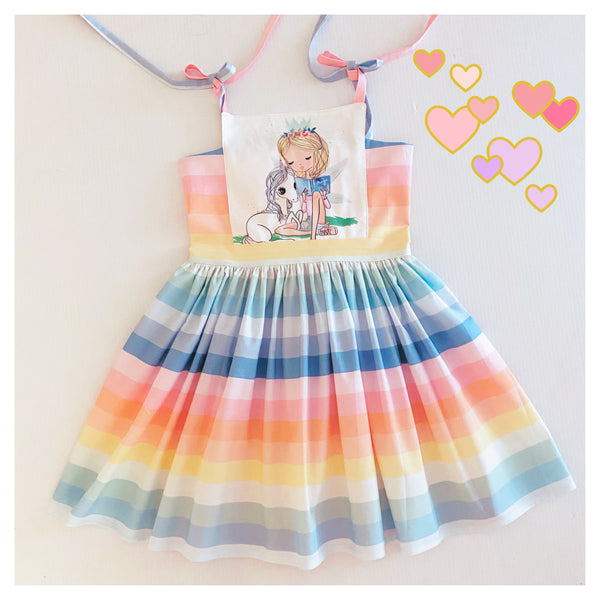 Unicorn and Rainbows dress