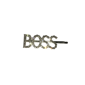"""BOSS"" hair pin"