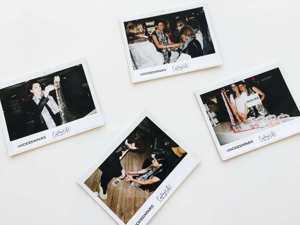 Polaroids captured during the event