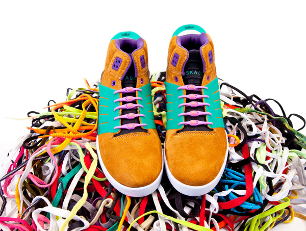 HICKIES shoelaces are better than normal shoelaces