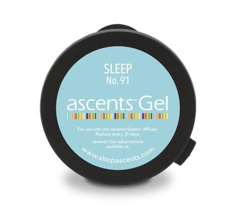 Diffuseur d'aromathérapie Ascents + 1 capsule Gel Ascents SLEEP no: 91
