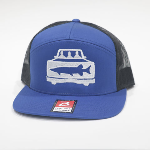 Limited 7 Panel Snapback - Truck Logo
