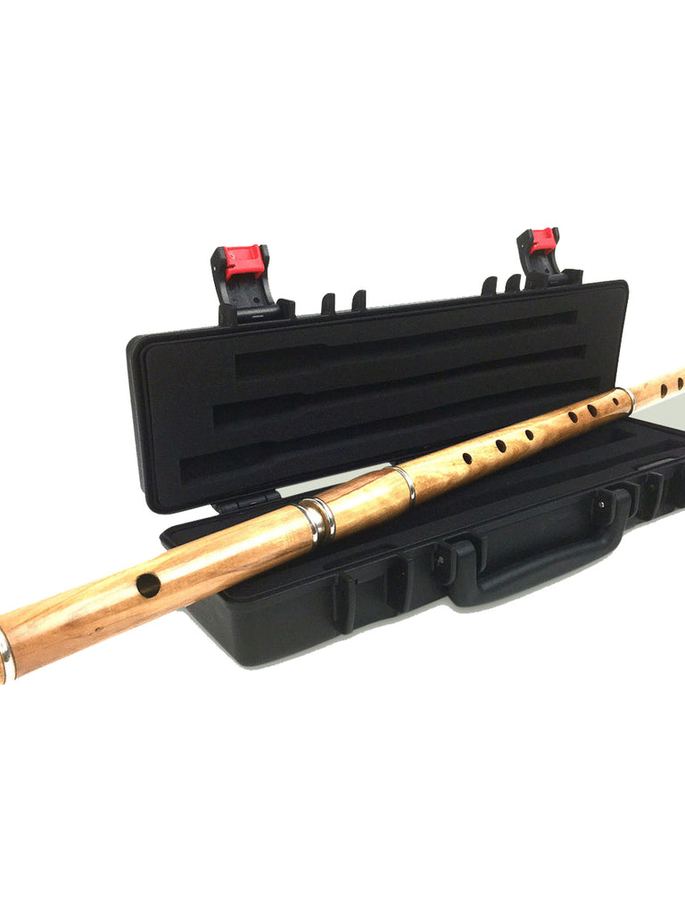 The Irish (Cocuswood) Flute with Foam Lined Box