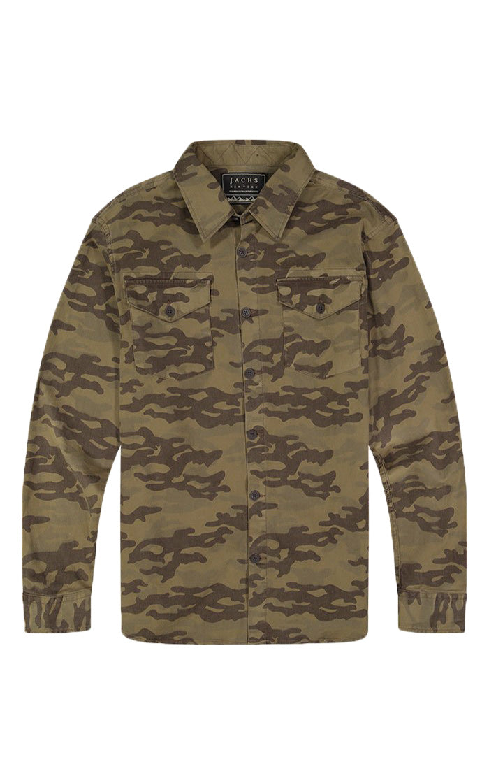 Camo Stretch Denim Workshirt