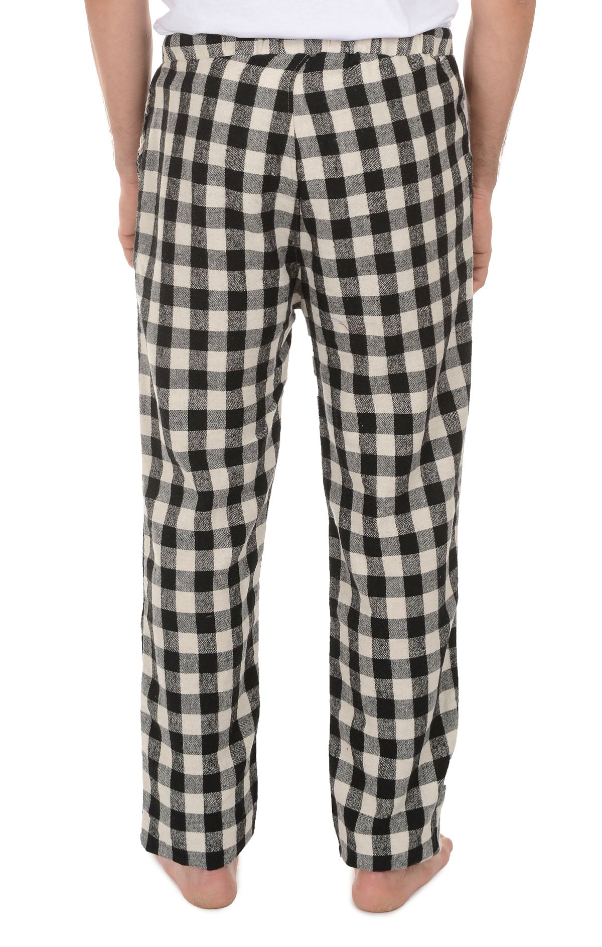 Black Buffalo Plaid Flannel Pajama Pant - jachs