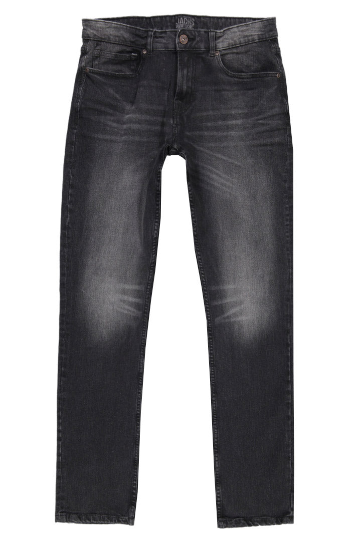 Charcoal Washed Ultra Stretch Denim - jachs