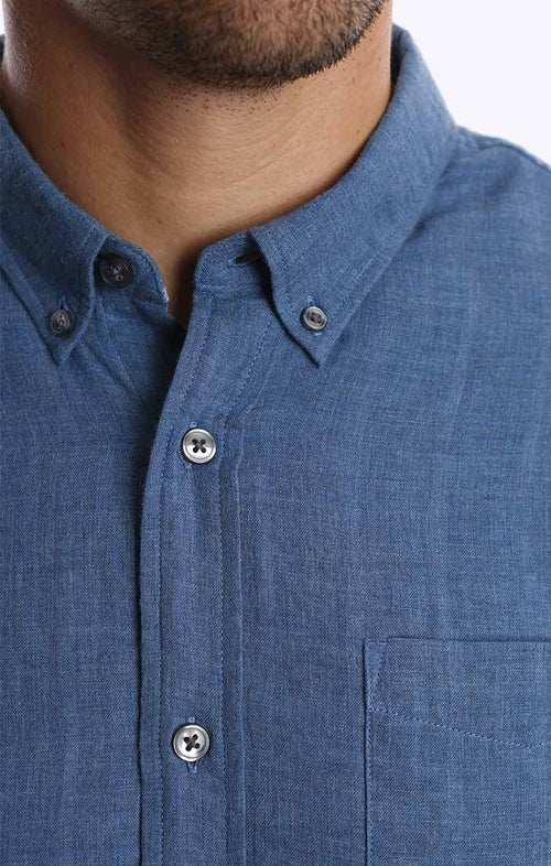 Blue Double Face Shirt