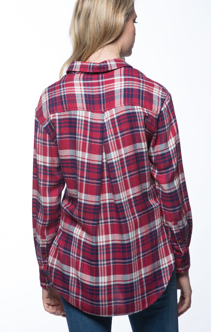 Pink SofBlend Plaid Flannel
