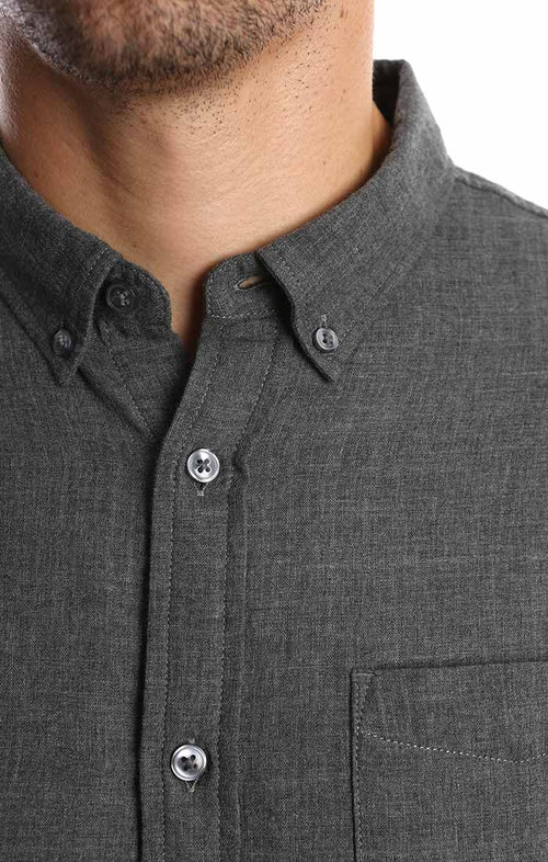 Charcoal Double Face Shirt