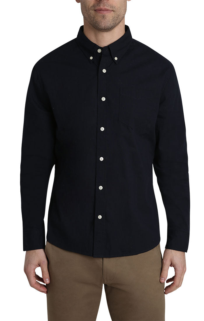 Indigo Stretch Oxford Shirt - jachs