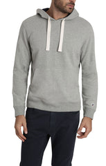 Grey Varsity French Terry Pullover Hoodie - JACHS NY