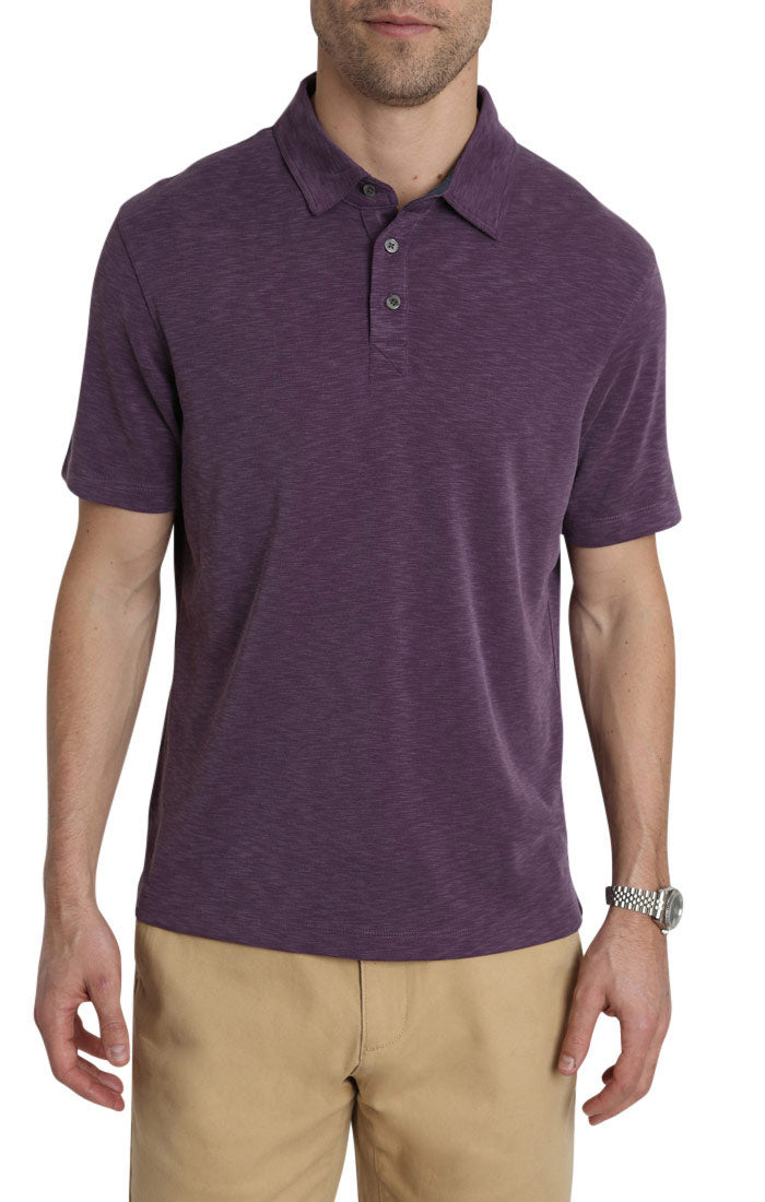 Purple Modal Sport Polo Shirt
