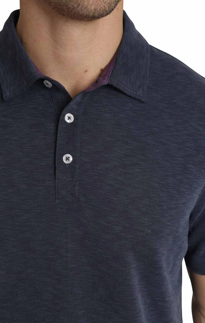 Navy Modal Sport Polo Shirt