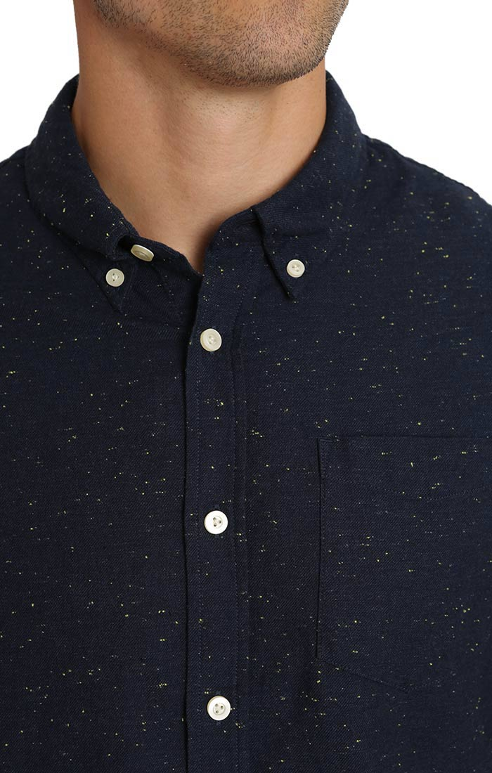 Indigo Donegal Oxford Shirt - jachs