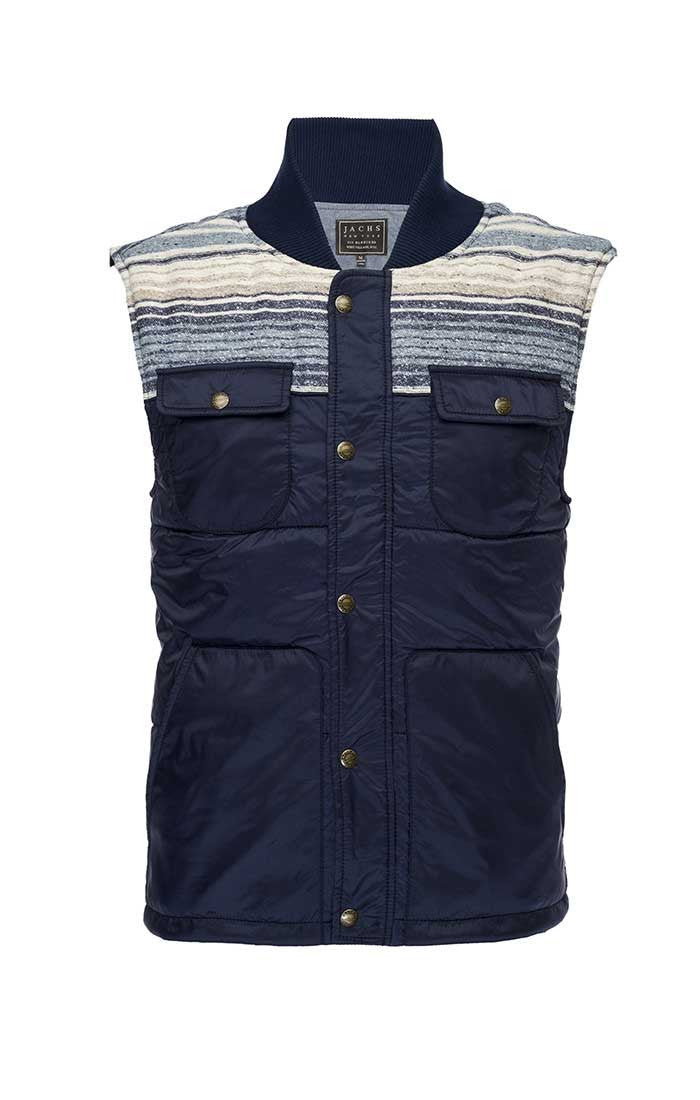 Quilted Nylon Puffer Vest