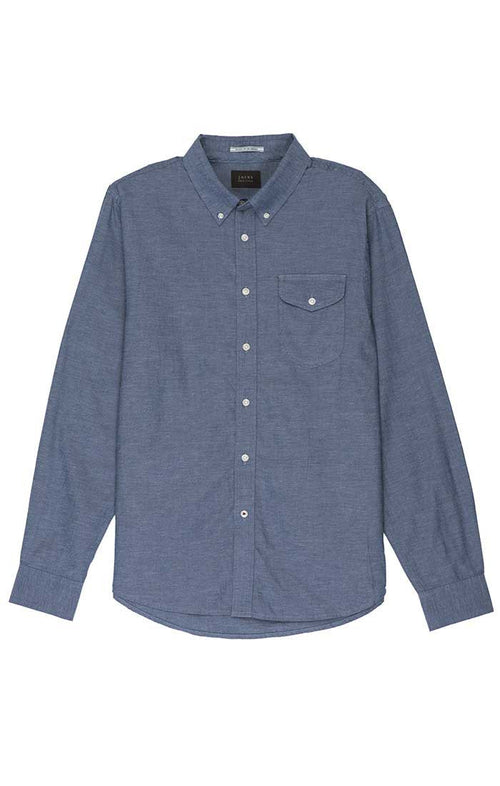 Blue Washed Light Oxford Shirt