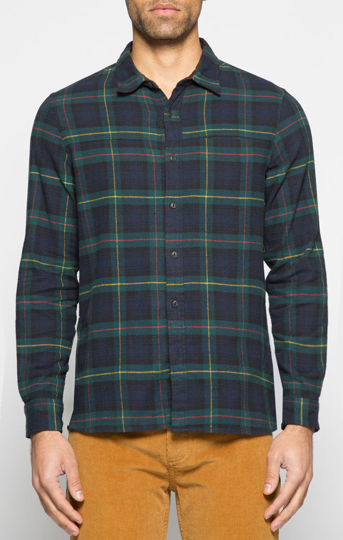 e9bea1bf191 Green and Navy Plaid Flannel Shirt Green and Navy Plaid Flannel Shirt ...